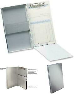 Saunders Recycled Aluminum Snapak Form Holder, Memo Size, Fits Paper Size up to