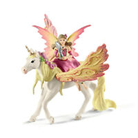 Schleich 70568 - Bayala Fairy Feya with Pegasus Unicorn - NEW!!