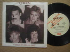 Queen Promo 45 RPM Speed Vinyl Records