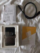 WD My Passport External SSD - 256 GB, Black & Silver