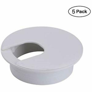 """2"""" White Desk Grommet (5 Pack) (White) Home"""