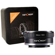 K&F Concept Nikon-NEX Adapter AI-S / AI / Non-AI Lens to Sony E / NEX (KF06.068)