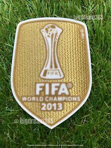 Original FIFA® World Champions Logo Patch CL 2013 für Bayern München Trikot NEU