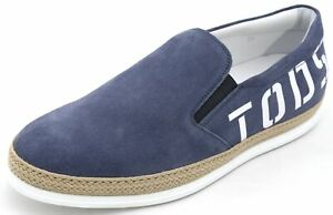 TOD'S MAN SNEAKER SHOES SLIP ON CASUAL TRAINERS FREE TIME XXM0TV0Y090RE0U216