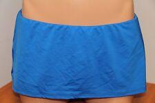 NWT 2Bamboo Bikini Skirted Bottom ULM Blue
