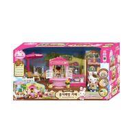 Konggi Rabbit Cafe Dollhouse Roleplay Toy Figure