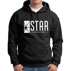 STAR LABS Hoodie Flash movie Dr Wells metahuman sweatshirts Halloween Costume
