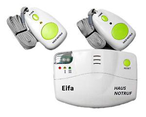 EIFA Mobiler Alarm Notruf Funk Krankenpflege Hausnotruf Panikalarm Senioren