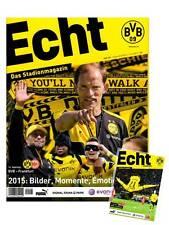 Programmheft # 101 - BVB 09 / Eintracht Frankfurt - 2015 - Gameday Magazine