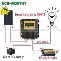 ECO 20A 12V/24V MPPT Solar Charge Controller Battery Regulator 15-30% More Power
