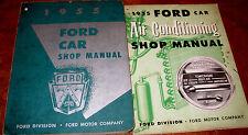 1955 55 Ford Car Service Shop Repair Manual Service Book Dealer all Models Orig!