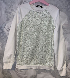 Girls Age 7-8 Years - Long Sleeved Sweater Top