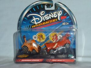 Disney WILD RACERS Savannah Speeder/Gas Hog TIMON/PUMBAA  by Hasbro  NIP 2002