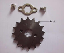 16 tooth 17mm gear sprocket for 428 chain motorcycle dirt pitbike parts for atvs