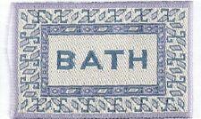 Dollshouse Dolls House Miniature Bath Mat Rug Carpet