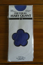 Vintage Mary Quant Sheer Stockings One Size Lupin