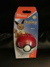 Mega Construx Pokemon Series 1 Eevee Figure New