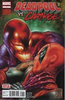DEADPOOL Vs. CARNAGE #1 1st PRINT, NM, 1st Shriek Cameo, Marvel 2014