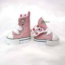 "Mimi Collection 12"" Neo Blythe Pullip Doll Denim MICRO Shoes Folded Boots Pink"