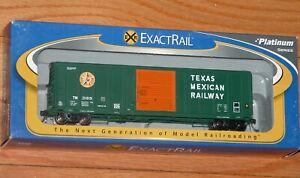 EXACTRAIL EP-80906-2 PS 5344 BOX CAR TEXAS MEXICAN RAILWAY TM 31369