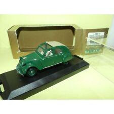 CITROEN 2CV ENGLAND 1953-54 OPEN ROOF Vert VITESSE L084 B 1:43