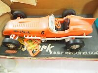 Remco The Shark U-Control High Speed Racer 1961 model 610 Works Great In Box