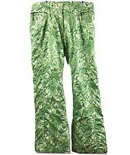 SERAC Thermolite SKI SNOWBOARDING PANTS  Green Paisly Women's xl Snow Pants