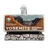 """Yosemite National Park"" (36172)X Old World Christmas Glass Ornament w/ OWC Box"