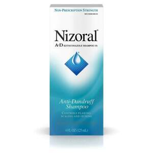 Nizoral A-D Anti-Dandruff Shampoo 4 fl. oz 4 Fl Oz (Pack of 1)
