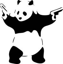 Banksy Panda Car/Window JDM VW EURO DUB Vinyl Decal Sticker