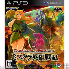 Used PS3  Dungeons & Dragons SONY PLAYSTATION 3 JAPAN JAPANESE IMPORT