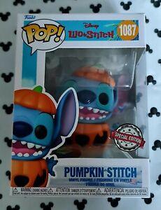 Funko Pop Disney Lilo & Stitch 1087 Pumpkin Stitch Halloween Vinyl Figure