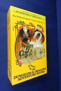 DUNGEONS & DAGONS ENDLESS QUEST COLLECTOR'S SET NO.1 Rose Estes - 4 D&D BOOKS