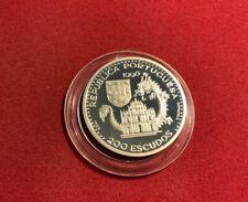 Portugal 200 Escudos 1996 Silber PP - Geschichte der Seefahrt