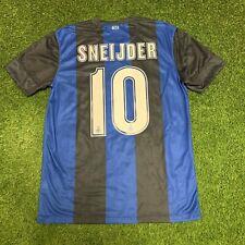 2012 2013 Inter Milan Sneijder Nike Jersey Shirt Kit Medium M Blue Home Black 10