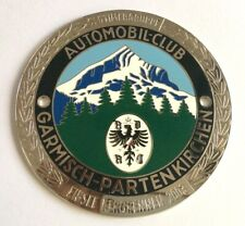 car Badge-Automobile club Garmisch-partenkirchen car grill badge emblem logos me