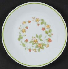 Corelle Set 3 STRAWBERRY SUNDAE Lunch  Salad Plates Corning FREE SH Retired 1983