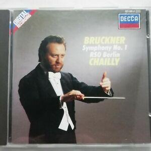 Bruckner: Symphony No. 1 / Chailly / RSO Berlin / Decca CD 421 091-2