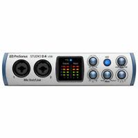 PreSonus Studio 2 4 USB 2-in/2-out USB 2.0 Audio Interface New