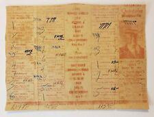 VINTAGE HORSE RACING PROGRAM / HIPODROMO QUINTANA / PUERTO RICO 1954 RARE #2