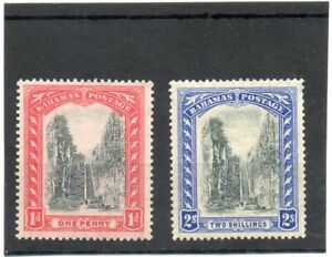 SG 111&113 BAHAMAS MINT . CAT £27. TWO SCANS