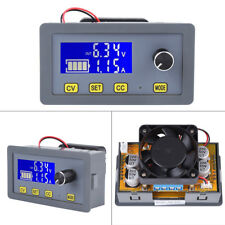 160W Adjustable 5A LCD Digital Fan Step-Down Power Supply Module 6-32V to 0-32V