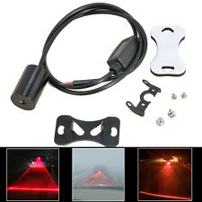 8V-36V Car Door Laser LED Fog Rear Anti Collision Safety Taillight Warning Lamp