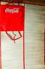 Coca Cola Strandmatte, Strand Matte, Campingmatte, Badematte, Stroh, rot