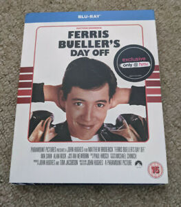 Ferris Bueller's Day Off - Region B UK Blu Ray - New And Sealed - With Slipcase