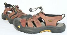 KEEN Red Rock Brown Leather Sport Outdoor Hiking Sandals Women's Size 7
