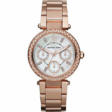 NEW Michael Kors MK5616 Rose Gold Mini Parker Ladies Watch