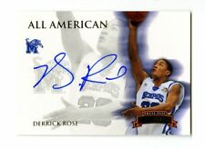 2008-09 Derrick Rose Press Pass /165 Auto RC Signed Rookie All American Cavs PP