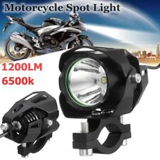 30w T6 Led 1200lm Faretti Supplementari Faro Headlight Fog Per Moto Bike Cafe
