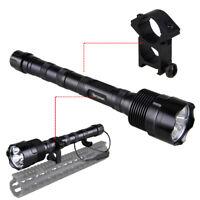 3800LM XML 3T6 LED Jagdlampe Taschenlampe mit bis zu 1000m Reichweite+Halterung